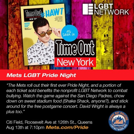 TimeOut New York: Pride Night at Citi Field | LGBT Network | Scoop.it