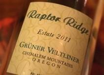 2011 Raptor Ridge Chehalem Mountains Oregon Gruner Veltliner ... | Grüner Veltliner & More | Scoop.it