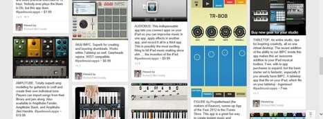iPad Apps for Encouraging Learning & Improvisation | Music | Scoop.it