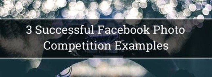 3 Successful Facebook  Photo Competition Examples | Business in a Social Media World | Scoop.it