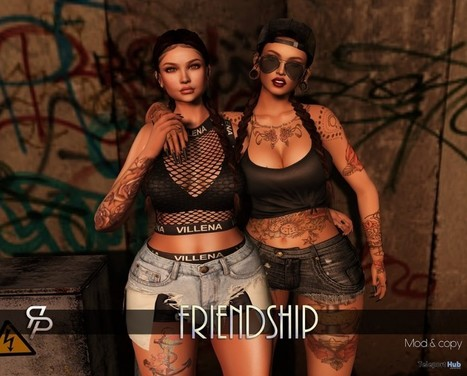 Friendship Pose Group Gift by Reel Poses | Teleport Hub - Second Life Freebies | Second Life Freebies | Scoop.it