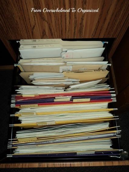 From Overwhelmed to Organized: Office Progress Week 3: Manuals ... | Organized Office | Scoop.it
