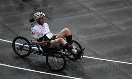 Paraplégique, il se lance dans une course cycliste bionique | Veille sur le handicap | Scoop.it