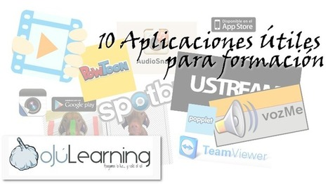 10 #Aplicaciones móvil y web útiles para el #formador | Alfabetización digital | Scoop.it