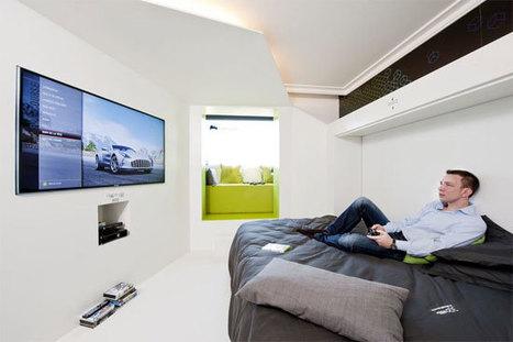 Chambre 3120, la chambre du futur par Microsoft et Novotel | Giiks | Actualité etourisme | simulateurs | Scoop.it