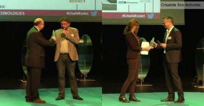 Oméga Cat System et V3C environnement, lauréates de Crisalide éco-activités - Newsletter Rennes Atalante | Innovation - Transfert de technologies | Scoop.it