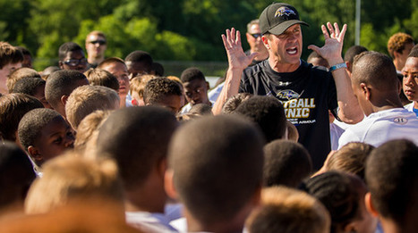 Why Football Matters, By John Harbaugh    Positive Coaching   Scoop.it