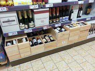 Les images de la foire aux #vins de #Noël de #Lidl | Vos Clés de la Cave | Scoop.it
