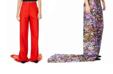Le pantalon qui traîne exprès — WTF mode - madmoiZelle.com | My Tendance Company | Scoop.it
