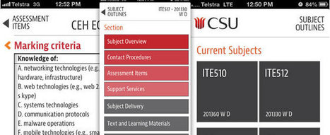 CSU puts students in charge of learning with mobile calendar - WhaTech   Charles Sturt University   Scoop.it