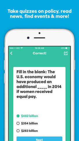 Gamified Election Apps : election app   ANALYZING EDUCATIONAL TECHNOLOGY   Scoop.it