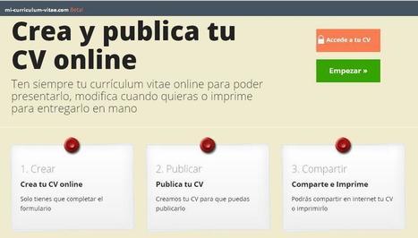 Mi-Curriculum-Vitae.com: Tu CV online | Empleo y Trabajo | Scoop.it