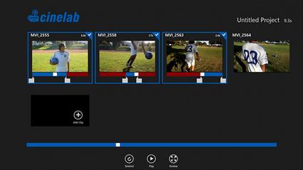 Cinelab : éditeur de vidéo pour Windows 8 | Geeks | Scoop.it