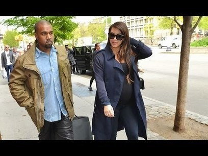 Kim K and Kanye West ditch the 'K' names   Witty Sparks   Celeb Buzz   Scoop.it