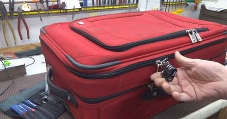 In Under 5 Seconds, This Guy Reveals The Shocking Truth About Locked Luggage   New World Solutions for Philippine Problems   Scoop.it