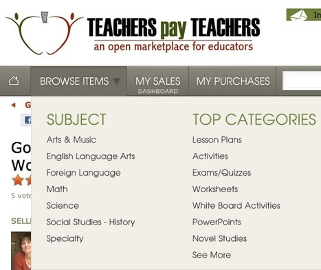 The Open Marketplace for Guides, Tutorials and Lesson Plans: TeachersPayTeachers | Online Business Models | Scoop.it