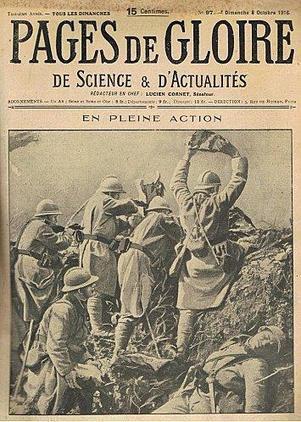 Le magazine Pages de gloire.   Passé Simple   Scoop.it
