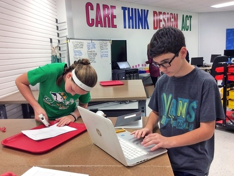 Middle School Maker Journey: The Making of a Mantra | Character Education | Scoop.it