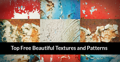 40 Top Free Beautiful Textures and Patterns of 2013 | freebies | Scoop.it