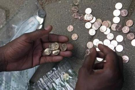 Zimbabwe's own-label dollar coins face consumer resistance | F582 The National and International Economy | Scoop.it