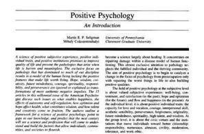 Positive Psychology Articles - a topical Collection | Psicología Positiva, Felicidad y Bienestar. Positive Psychology,Happiness & Wellbeing | Scoop.it