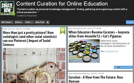 Content curation as assessment for learning : DrAlb | Content Curation for Online Education | Scoop.it