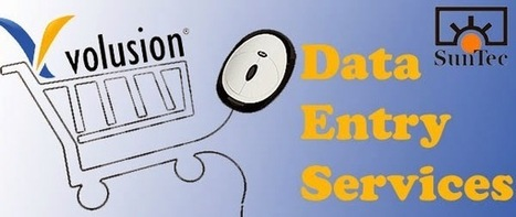 Volusion data entry services- What is it all about? | E-commerce Solutions | Scoop.it