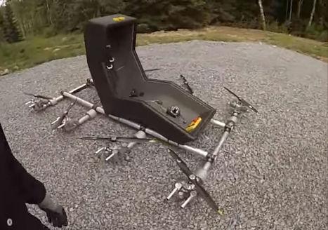 Sueco constrói suicidocóptero   Heron   Scoop.it