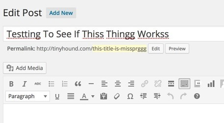 New WordPress Plugin Spell Checks Post Titles Before Publishing | Simple Local Business | Scoop.it