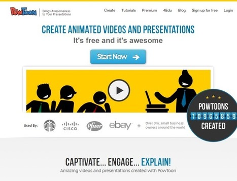 12 Tools To Create Powerful Presentations | Nouvelles des TICE | Scoop.it