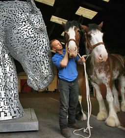 Video shows how giant horse-head sculptures will look - Featured, News - Horsetalk.co.nz | From the Equine Blogosphere | Scoop.it