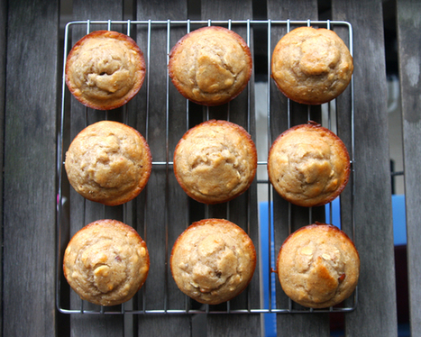 Healthy Recipe: Peanut Butter Banana Muffins - Washingtonian.com (blog) | Healthy Eating - Recipes, Food News | Scoop.it