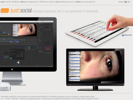 ToolsOnAir and Molden Media Introduce Real-Time Social Media Integration at NAB 2012 [PR] | Video Breakthroughs | Scoop.it