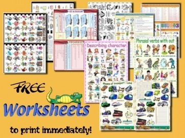 My English Printable Worksheets | Free ESL resources, activities and worksheets | FRANCING | Scoop.it