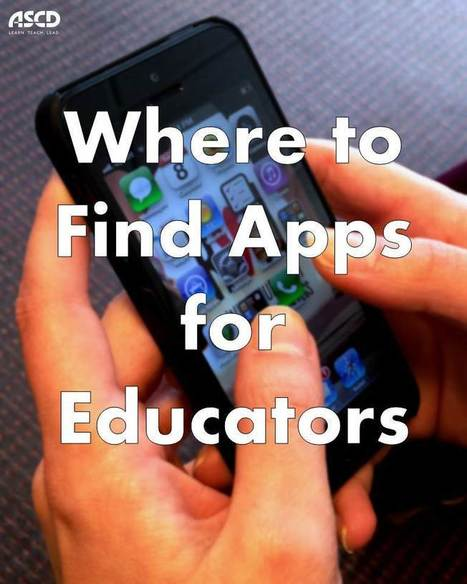 Where to Find Apps for Educators | ASCD Inservice | Elementary Special Education | Scoop.it