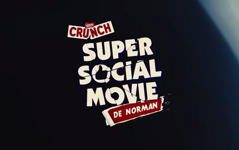 Crunch Super Social Movie de Norman | Identité de marque | Scoop.it