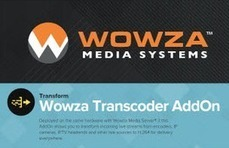 Wowza Transcoder AddOn test report | Video Breakthroughs | Scoop.it