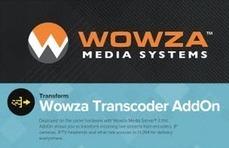Wowza Transcoder AddOn test report | Video Breakthroughs | Scoop.it