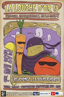 La louche d'or : festival de la soupe à Wazemmes Lille | J'aime Wazemmes | Scoop.it