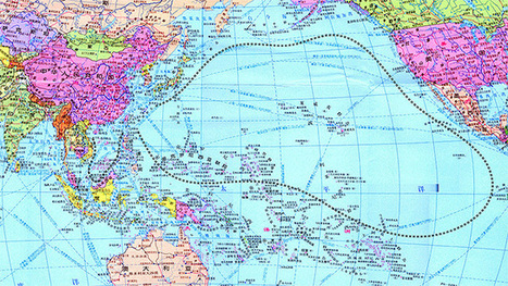 China's New World Map Claims Hawaii And Most Of Micronesia | Miscellaneous Topics | Scoop.it