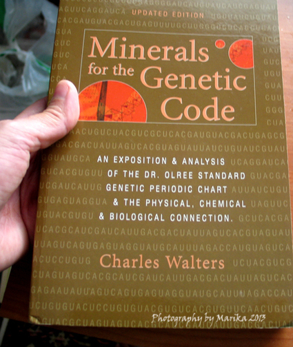 Minerals for the Genetic Code | Fragrant Universe | Everything Books | Scoop.it