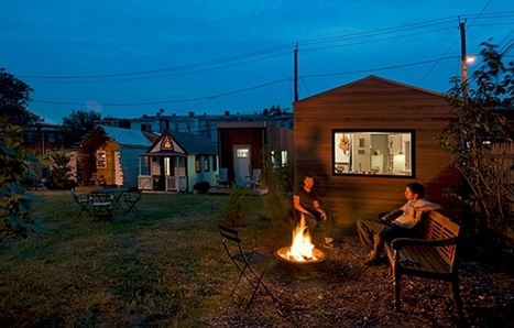 Micro-community of tiny homes flourishes on rehabilitated vacant lot   Sustain Our Earth   Scoop.it