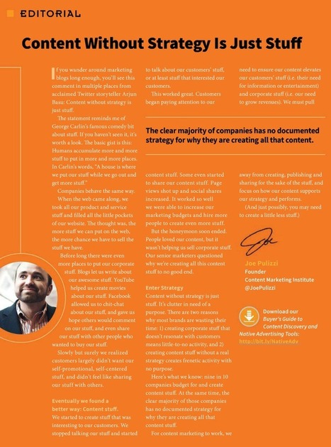 Content marketing, branded entertainment et brand content : quelles différences ? | Brand Content & Content Marketing | Scoop.it
