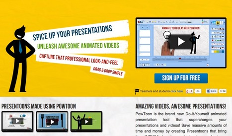 PowToon - Brings Awesomeness to your presentations | Technology Assisted Language Learning | Scoop.it