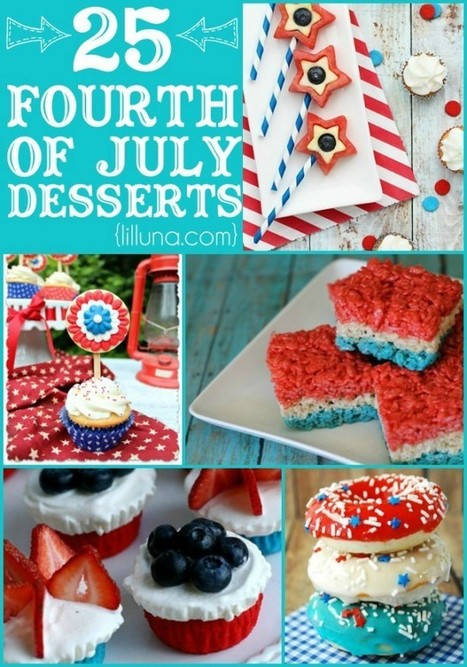 25+ Fourth Of July Desserts | Fun DIY Creative Ideas and Crafts | Scoop.it