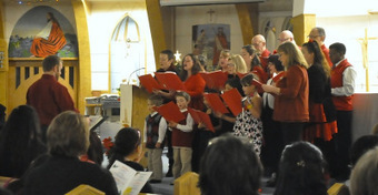 Christmas concert at Inuvik NWT's Igloo Church | NWT News | Scoop.it