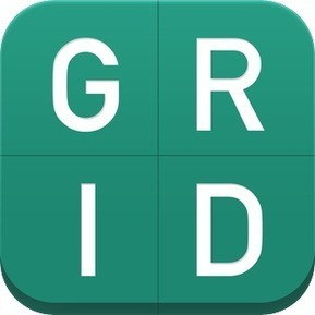 "Students arrange thoughts and pix on ""Grid"". free 
