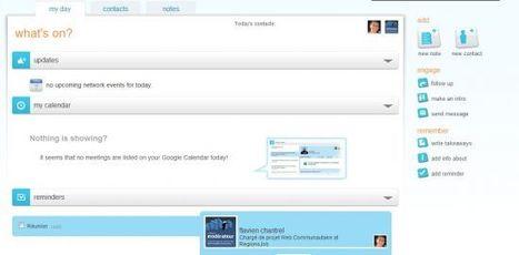 Centraliser ses contacts sur les réseaux sociaux : FellowUp - Blog du modérateur | Time to Learn | Scoop.it