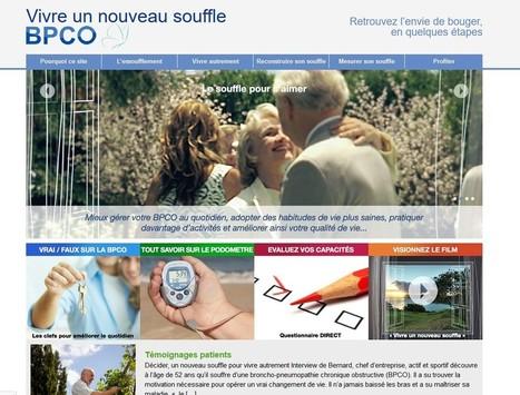 BPCO : un site pour mieux comprendre et vivre la maladie | 24hSanté | VIGIE Pharma : Visite médicale et marketing pharmaceutique | Scoop.it