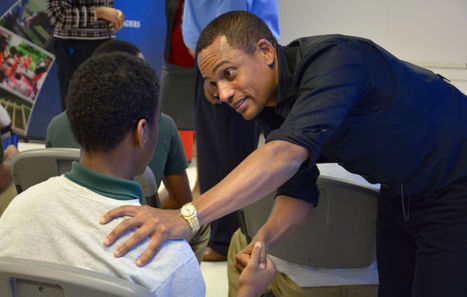 Actor Hill Harper tries to help boys in Maryland juvenile treatment - Cecil Whig | Juvenile Prison Outreach | Scoop.it